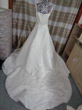 (9)Edles Damen Braut Standesamt Abend Kleid GR: GR: 40