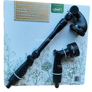 Quality Orbit Garden Nozzle Hosepipe Watering Set With Extendable Wand