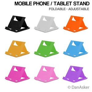 Universal Adjustable Mobile Phone Tablet Switch Holder Stand Portable Folding