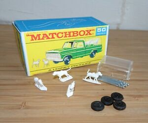 Matchbox MB50 Lesney 50c Ford Kennel Pick Up Truck Dogs Spare Parts Choose List