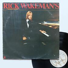 "Vinyle 33T Rick Wakeman  ""Rick Wakeman's criminal record"""