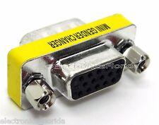 Adapter  Converter Coupler 15 Pin VGA Female to VGA Male e61