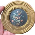 Vintage+Exclusively+Ours+Made+In+Italy+Antiqued+Florentine+Plaque+Gilt+Frame