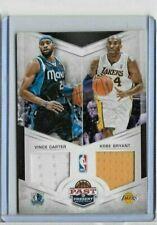 2012-13 Panini Past & Present Kobe Bryant Vince Carter Dual Jerseys #80/99
