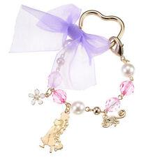 Tangled Rapunzel bag Charm Pearl Disney Store Japan