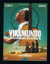 VIRAMUNDO - GILBERTO GIL - COFFRET DVD + CD + POSTER + CARTES - TRÈS BON ÉTAT