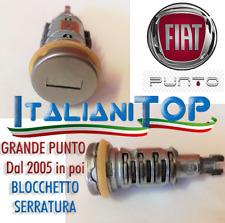 CILINDRETTO BLOCCHETTO SERRATURA FIAT GRANDE PUNTO dal 2005 in poi IN OFFERTA