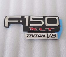 Ford F150 XLT Triton V8 Fender Emblem New OEM Part F85Z 16720 EA