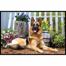 German Shepherd Door Mat