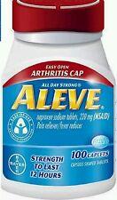 ALEVE EASY TO OPEN ARTHRITIS CAP - 300 TABLETS (3 x 100)