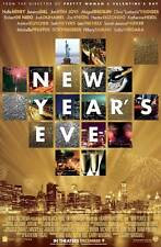 NEW YEAR'S EVE Movie Promo POSTER Michelle Pfeiffer Zac Efron Charlotte