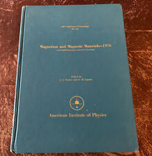 Magnetism & Magnetic Materials - 1976 - AIP Conference Proceedings #34 - Ex-Lib