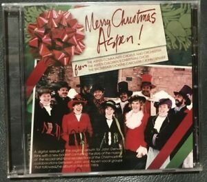 Merry Christmas Aspen CD - JOHN DENVER ASPEN CAROLERS SEALED