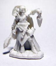 1x CHRISTINA FEMALE CLERIC - BONES REAPER figurine miniature d&d rpg hero 77468