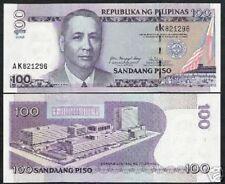 PHILIPPINES 100 PESOS P194 2005 ERROR *ARROVO* UNC CURRENCY RARE MONEY BILL NOTE