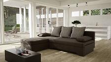 Couch Sofa Couchgarnitur Sofagarnitur MARY L Form Wohnlandschaft Schlaffunktion