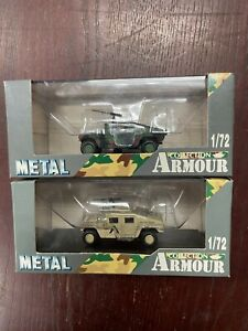 Armour Collection, Hummer M1025 Patrol & Hummer M1025 Desert Patrol, 1:72