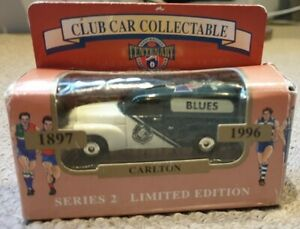 AFL Centenary Club Car Collectable Series 2 Limited Edition - Blues