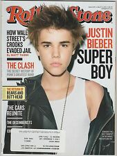 Rolling Stone Magazine ~ Justin Bieber ~ March 3,2011 ~ Issue 1125