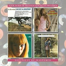 JACKIE DESHANNON - IN THE WIND/ARE YOU READY FOR THIS?/NEW IMAGE 2 CD NEU
