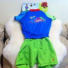New Speedo Kids Surf Uv 2-piece Flotation Suit Size M/L for age 2-4