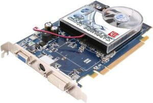 Sapphire ATI Radeon X1550 512MB DDR2 PCIe DVI VGA S-VIDEO Graphics Card