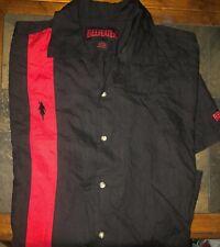 Men's Beefeater Short Sleeve Retro Bowling Style Shirt - Size Large - EUC