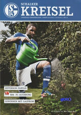 Schalker Kreisel + 01.09.2012 + FC Schalke 04 vs FC Augsburg + Programm +