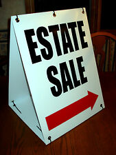 ESTATE SALE WITH ARROW Sandwich Board Sign 2-sided Kit NEW