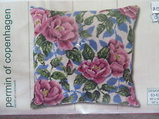 Sale 30% Off Permin Hand-painted Needlepoint Kit - Roses #83-6302