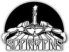 "Scorpions Band Rock Music Car Bumper Window Sticker Decal 5""X4"""