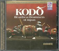 Kodo Heartbeat Drummers Of Japan Sheffield 24 Karat Gold CD ohne Rückcover OOP