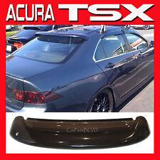 JDM 2004 Acura TSX CL9 Rear Roof Window Visor w/ Stability Brackets - Sun Shade