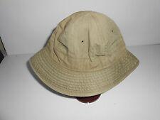 VINTAGE WW2 ISSUE DAISY MAY HAT HBT CAP     13B