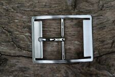"Metal Belt Buckle Replacement TO FIT 38mm 1 1/2"" BELT / STRAP Center Bar  BD"