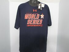 824ad032f8fe5 Houston Astros Under Armour 2017 Champions Conquer T-Shirt FAST FREE  SHIPPING