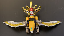 Power Rangers Wild Force EAGLE Gold Yellow Bird Deluxe Megazord Head Bandai 2002