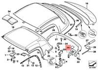 Genuine BMW Z3 Z3 1.8 1.9 Cabrio Accelerator Bowden Cable 35411162972