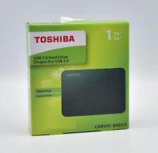 Toshiba HDTB410EK3AA Canvio Basics Tragbare Externe Festplatte USB 3.0, 1TB NEU