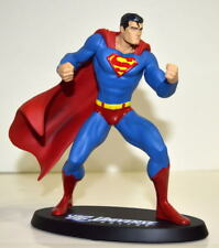 "DC Universe Online SUPERMAN Ltd Ed 6 1/4"" Statue #734/5000 based on Jim Lee"