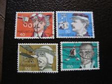 SUISSE - timbre yvert et tellier n° 1017 a 1020 obl (A2) stamp switzerland (O)