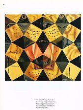 "Original Vintage SALVADOR DALI  Print Book Plate 8x11--"" The Bengal Tiger"" 1962"