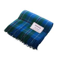 Tartan 100% Wool Bed Blankets