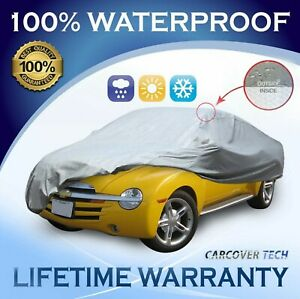 100% Waterproof/ All Weatherproof Full Car Cover For Chevy SSR [2000-2021]