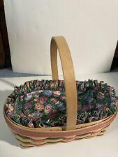 Longaberger 1997 Large Easter Basket #13447 with, Liner.