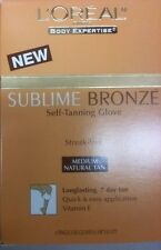 L'Oreal Sublime Bronze,Self Tanning Gloves. Medium (New & Boxed)