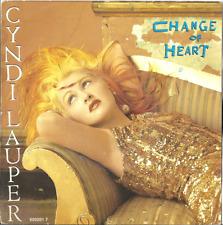 Cyndi Lauper / chance of heart / the portrait 45t original 1986