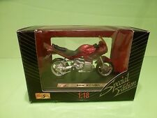 MAISTO 39309 MOTORCYCLE BMW R1100 RS - RED 1:18 - GOOD CONDITION
