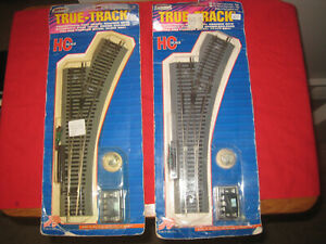 Atlas HO Scale True-Track  Remote Snap Switch, Right - Lot of 2