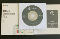 Microsoft Office 2019 Professional Plus For Windows 1PC Retail Sealed Box DVD